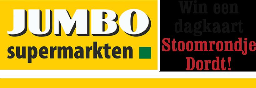 Jumbo Supermarkten: Win een dagkaart Stoomrondje Dordt