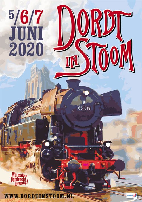 Dordt in Stoom 5 - 6 - 7 juni 2020
