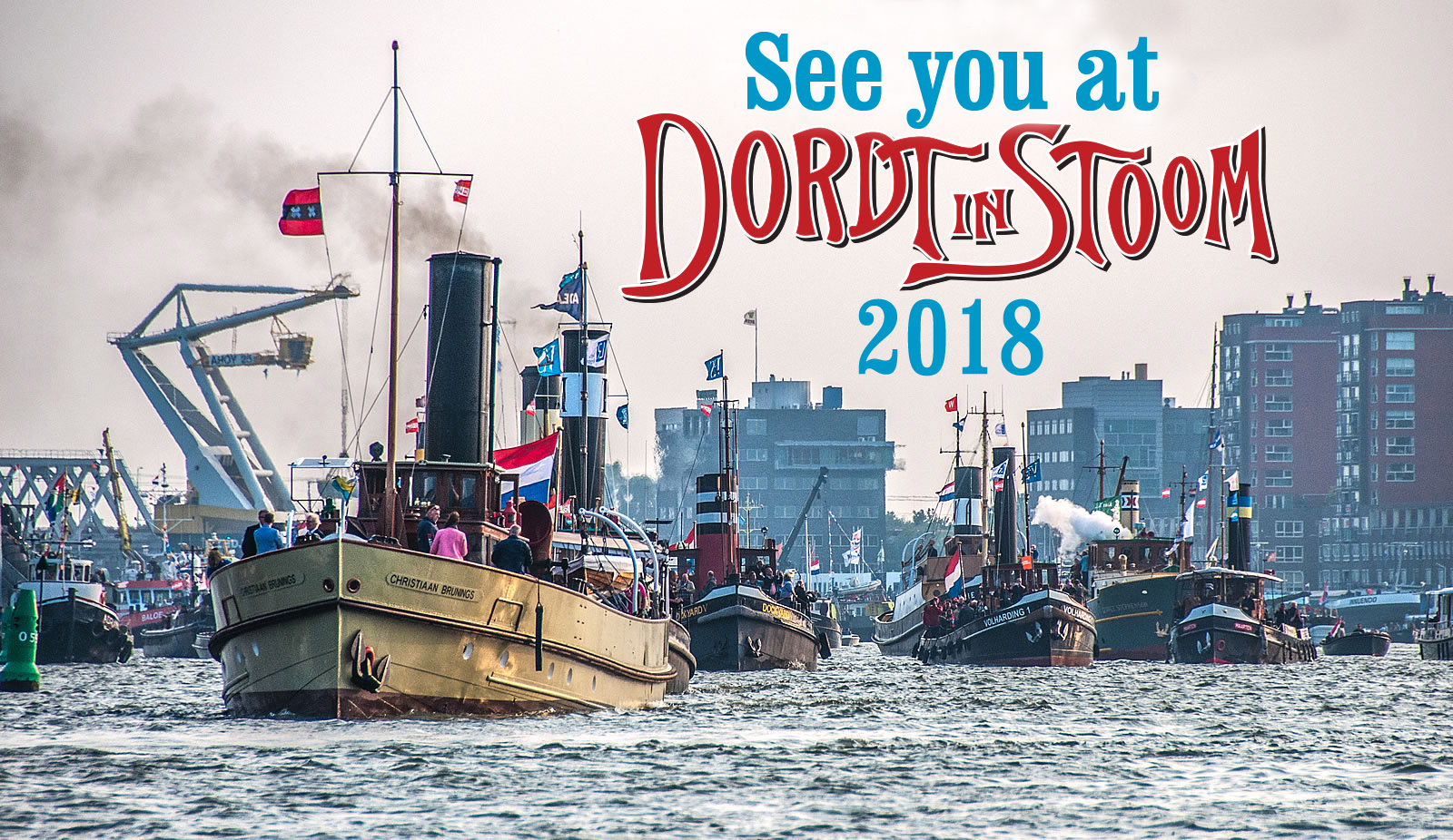 See you at Dordt in Stoom 2018
