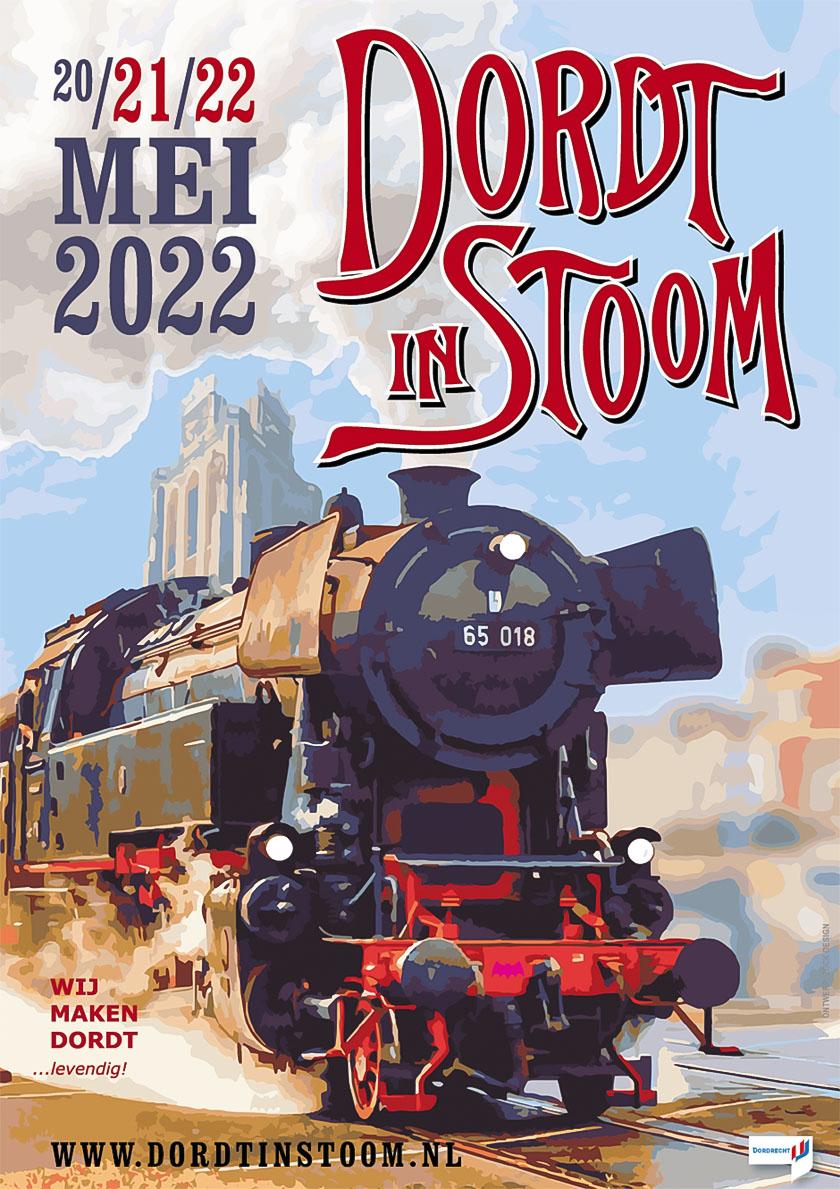 Dordt in Stoom 20 - 21 - 22 mei 2022